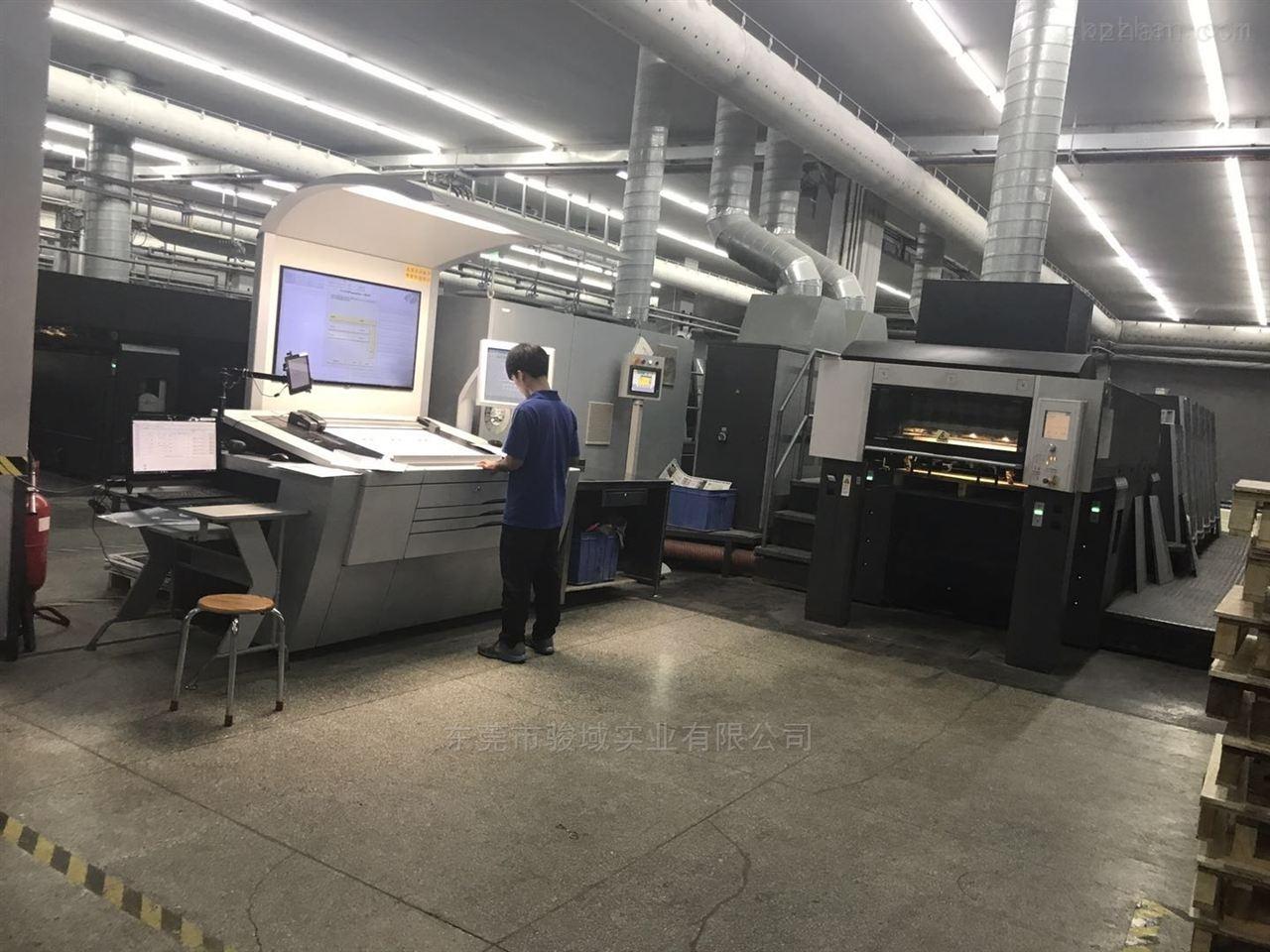 二手印刷机 海德堡LX105-8-P