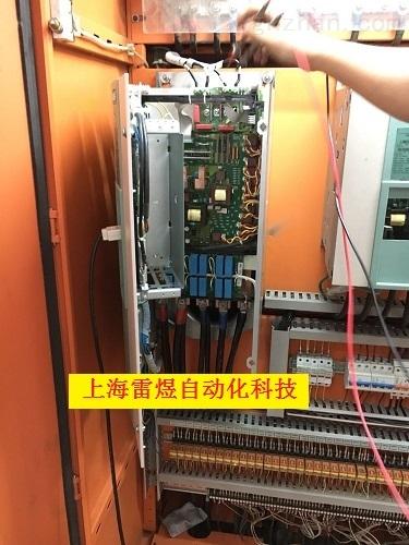 西门子直流调速器显示故障代码维修当天修复