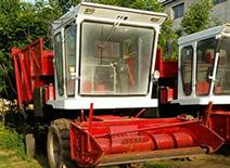 自走式玉米秸稈青儲機