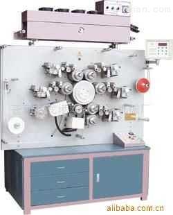 万能尺寸高速轮转商标印刷机