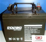 恒力蓄电池6-EVF-100电力系统专用电池