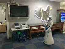 湖北咸寧博物館科技館展覽館迎賓導覽機器人