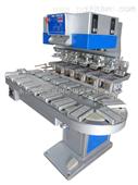 六色转盘机,六色转盘移印机,双缸六色转盘机,六色双缸抬头移印机