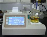 微量水份测定仪测量精度高、重复性好、数据打印