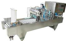 供应杯装饮料灌装封口机 CFD-4型三角杯全自动灌装封口机机械设备