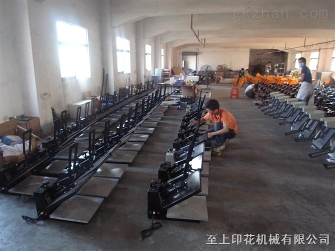 供应手动烫画机,服装印花设备,广东月产量zui多厂家之一