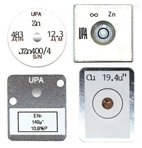 X-RAY电镀膜仪标准片,校正片,膜厚块