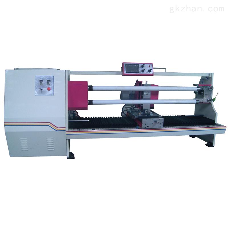 电工胶带双管自动切台 双面胶双轴分切机