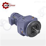 斜齿轮RF87-1/35-3KW-4P硬齿面立式减速机