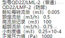 湿式气体流量计 (防腐) 型号:QD22/LMF-2