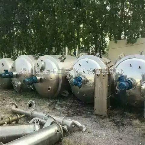 天津二手5吨不锈钢反应釜