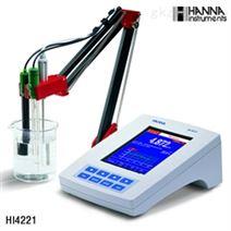 Hanna/哈纳 HI4221台式酸度计测定仪 代理