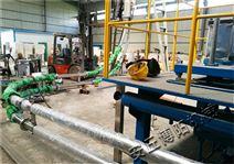 天津管鏈輸送機 煤顆粒管鏈上料系統