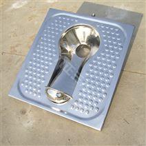 圆形帽蹲坑 农村厕所用不锈钢蹲便器 带防滑