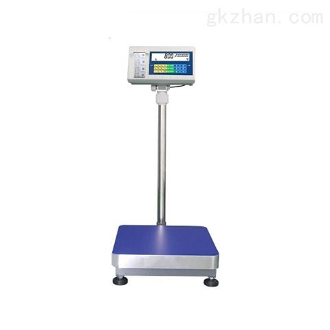 仓库不干胶打印电子秤150公斤标签台称