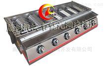 六頭節能燃氣燒烤爐,六個開關烤面筋爐子