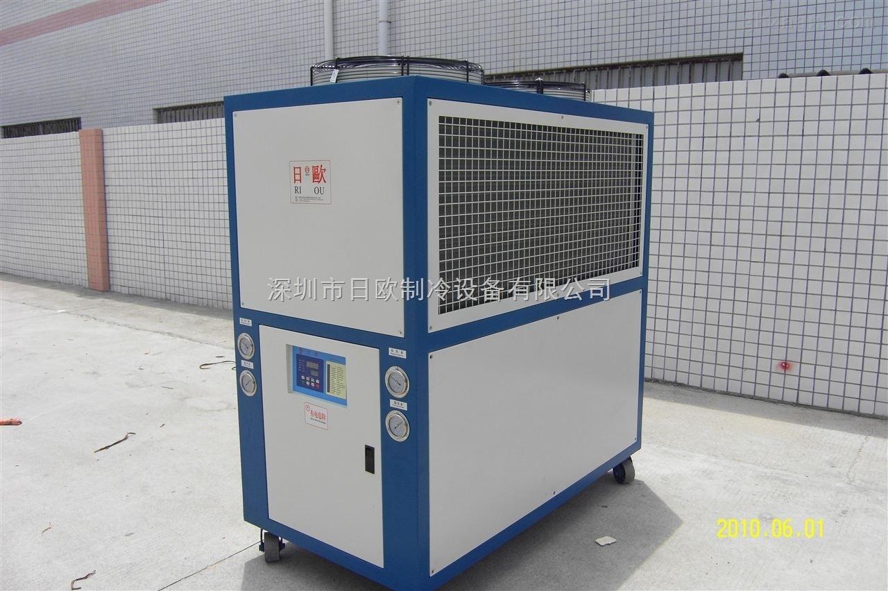 日欧风冷式低温冷水机 低温电镀冷水机