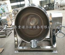 重诺蒸汽卤肉夹层锅电加热可倾式炒锅