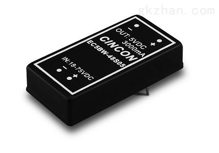 CINCON电源代理西安浩南电子 EC5BW-24S05N