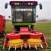 拖拉机带独立割台 圆盘式玉米秸秆青储机