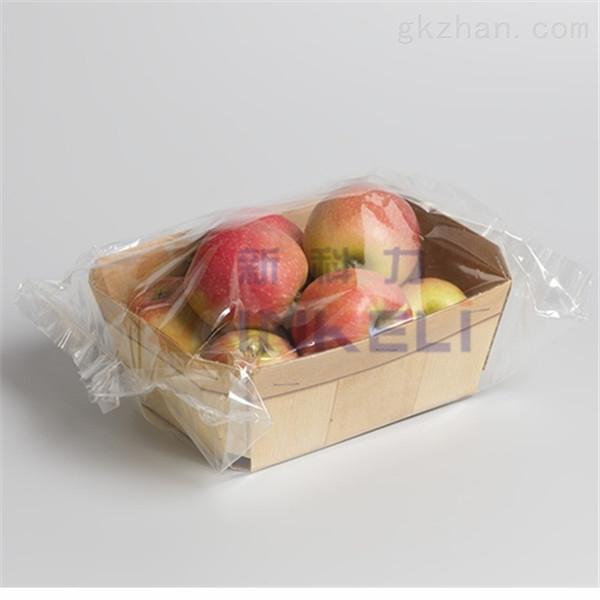 带托盒蔬菜水果自动包装机