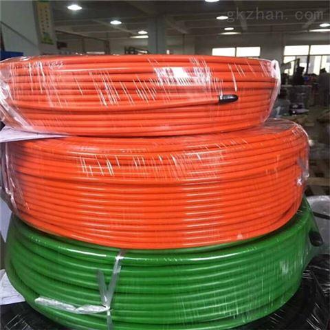耐油高柔抗磨聚氨酯机器人拖链电缆