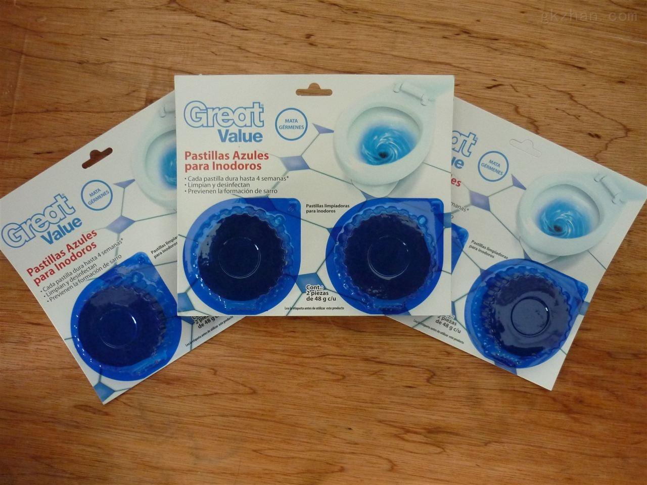 清洁用品蓝泡泡包装机械