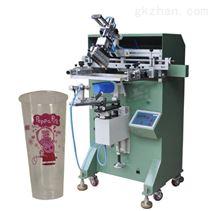 马克杯丝印机奶茶杯滚印机航空杯丝网印刷机