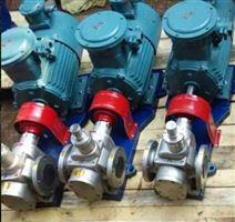 食品输送卫生泵YCB G型不锈钢圆弧齿轮泵