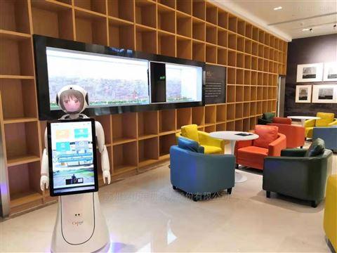武汉江岸政务服务大厅迎宾接待机器人