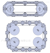 DTS-25-255 Hepco海普克 DTS精密环形导轨系统