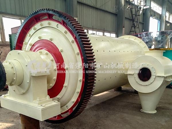 日產150噸石灰球磨機強化改革深得用戶贊譽