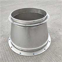獅山鍍鋅風管廠專業加工螺旋風管配件大小頭