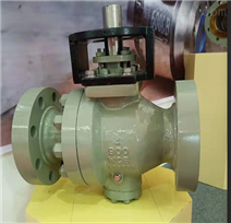 煤化工专用高压耐磨球阀