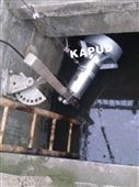 qjb潜水搅拌机安装布置图