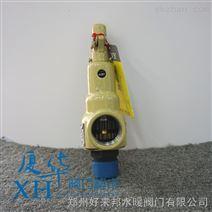 中国永一带手柄弹簧全启式丝扣铸钢安全阀A28H-16C