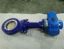 DN100 DN150 PN10小型电动刀闸阀PZ973H-10