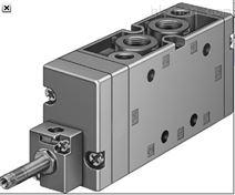 FESTO MFH-3-3/4-S,不带线圈和插座电磁阀
