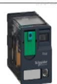 不带LED的Schneider小型继电器售