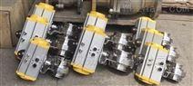 D681X气动不锈钢快装蝶阀
