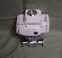 Q981F电动快装式球阀