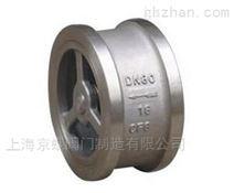 上海沪工H72对夹升降式止回阀
