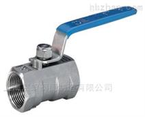 上海标一阀门Q11F一片式内螺纹球阀