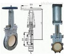PZ943H电动刀型闸阀报价