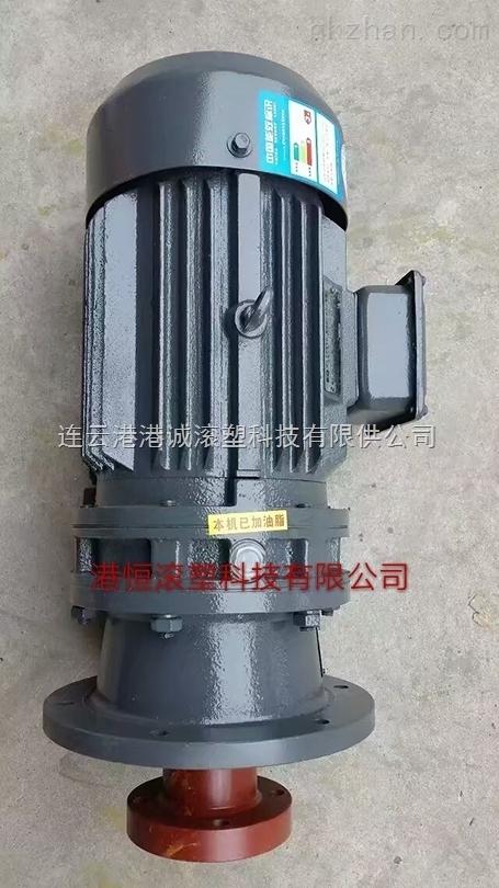 摆线针轮减速机 220V1.1KW搅拌电机