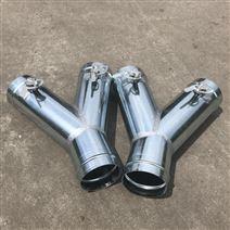 風管三通調節閥 鍍鋅螺旋風管生產廠家