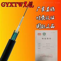 GYXTW室外铠装光缆 单模架空监控光缆