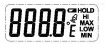 ZH-803折疊燒烤叉IC,高溫食品溫度計芯片