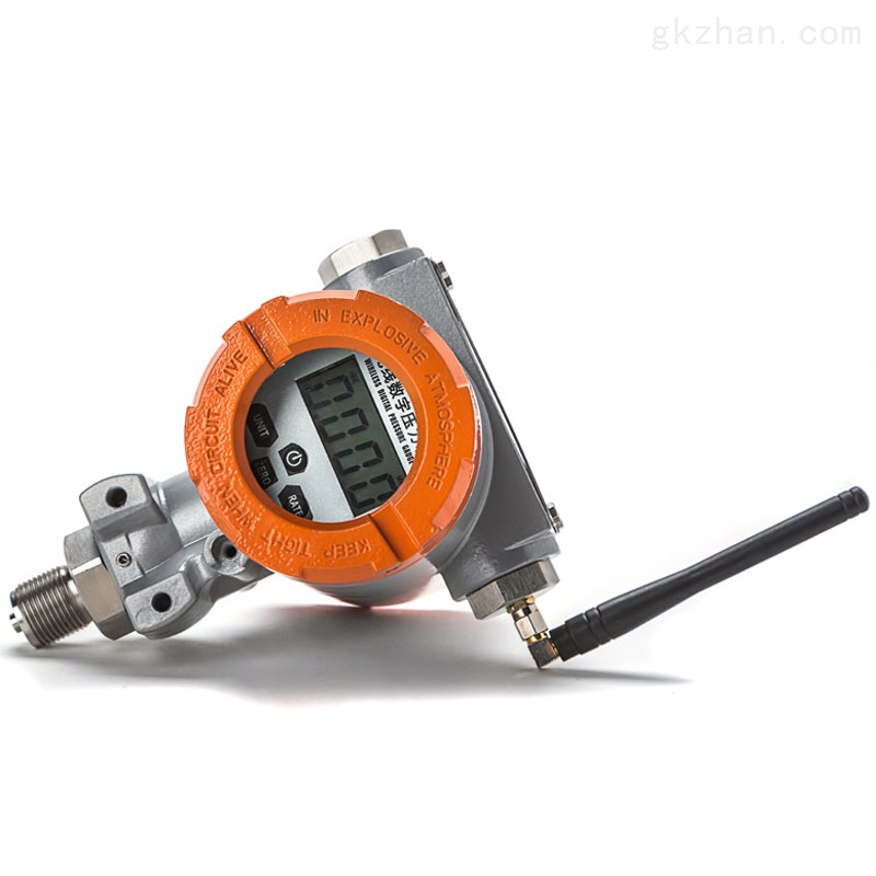 低功耗电源电池隔爆无限输出压力表