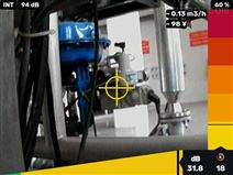 泄漏位置自动锁定多功能气体泄漏成像仪